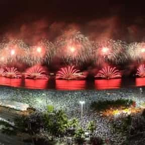 Rio de Janeiro is listed (or ranked) 9 on the list The Best Cities to Party in for New Years Eve