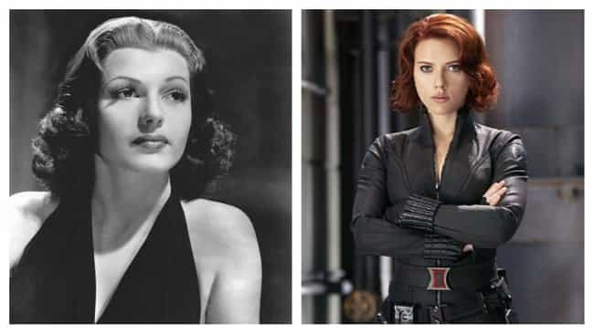 Rita Hayworth is listed (or ranked) 2 on the list Old Hollywood Stars Who Would Be Perfect Casting For Modern Superheroes