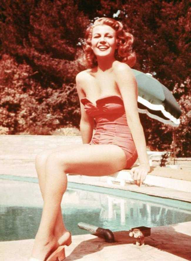 Rita Hayworth is listed (or ranked) 2 on the list The Hottest Pin-Up Girls from the 1940s