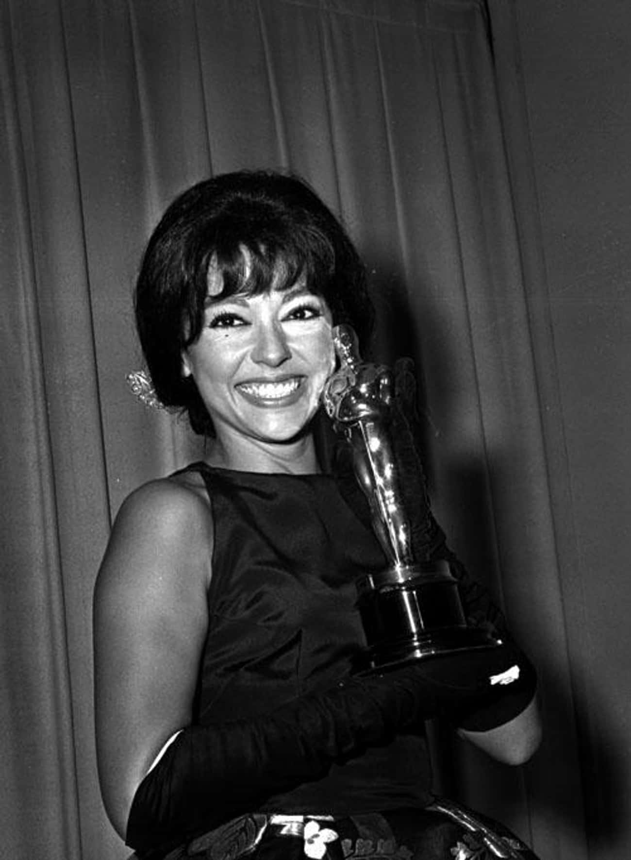 Rita Moreno is listed (or ranked) 3 on the list People Who Have EGOT Awards