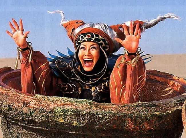 Rita Repulsa is listed (or ranked) 4 on the list 17 Characters You Didn't Realize Were Icons Of LGBTQ+ Pop Culture