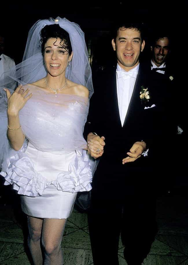 Rita Wilson is listed (or ranked) 7 on the list 31 of the Wackiest Celebrity Wedding Gowns