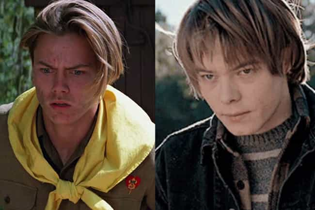 River Phoenix is listed (or ranked) 2 on the list Who Would Be In 'Stranger Things' If It Were Cast In The '80s?