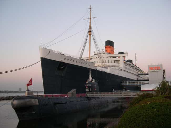 RMS Queen Mary is listed (or ranked) 1 on the list Super Haunted Amusement Parks And Attractions You Can Visit Today