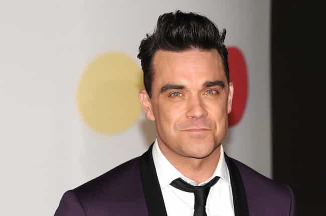 Robbie Williams is listed (or ranked) 10 on the list 17 Famous Musicians Who Claim to Have Seen UFOs