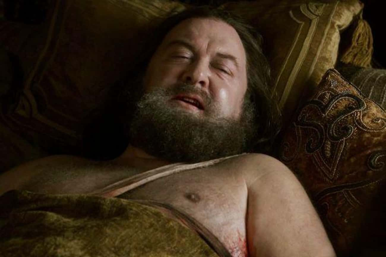 Robert Baratheon is listed (or ranked) 4 on the list The Most Important 'Game of Thrones' Character Deaths