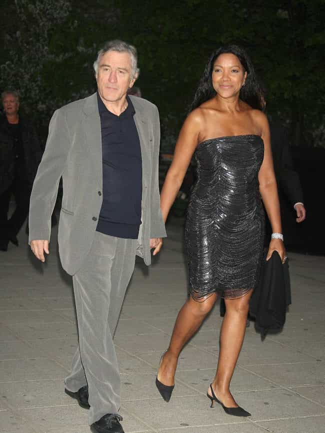 Robert De Niro is listed (or ranked) 2 on the list Interracial Couples Alert! These Famous White Men Are Married To Black Women