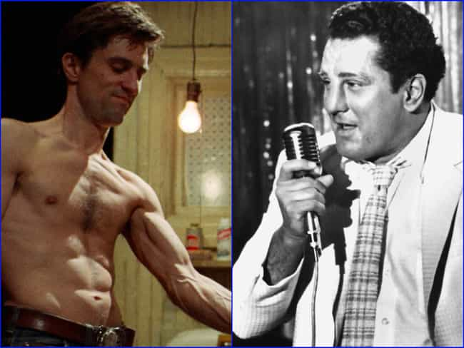Robert De Niro is listed (or ranked) 2 on the list The 12 Most Extreme Actor Transformations
