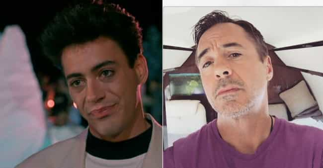 Robert Downey Jr. is listed (or ranked) 3 on the list Teen Star Hunks From Your Childhood Who Have Gray Hair Now