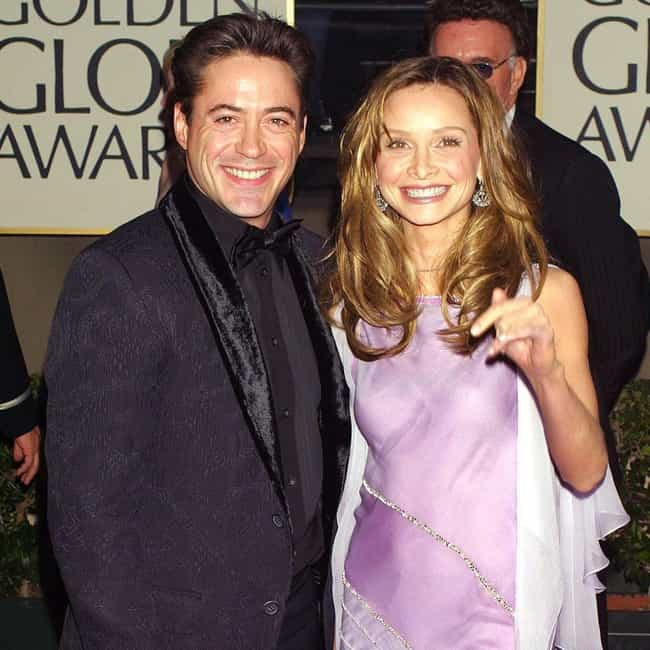 Robert Downey Jr. is listed (or ranked) 2 on the list Calista Flockhart Loves and Hookups