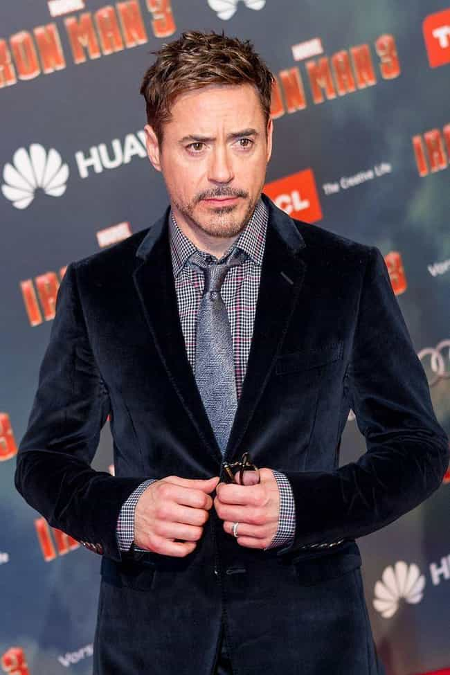 Robert Downey Jr. is listed (or ranked) 4 on the list The Hottest Actors in 2013 Movies