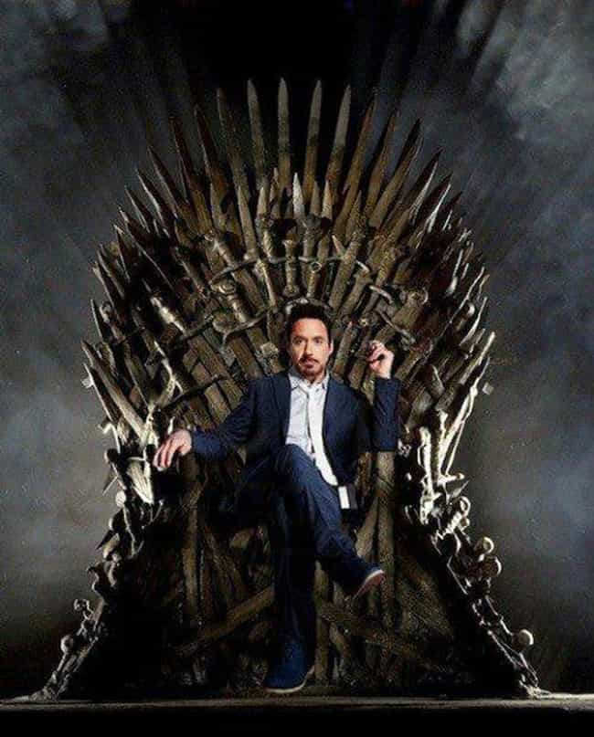 26 Famous People Sitting On The Iron Throne