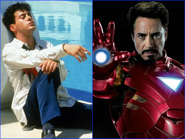 Robert Downey Jr. is listed (or ranked) 1 on the list The Greatest Hollywood Comebacks of All Time