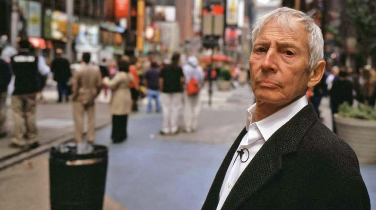 Robert Durst Seems to Have Very Little Impulse Control