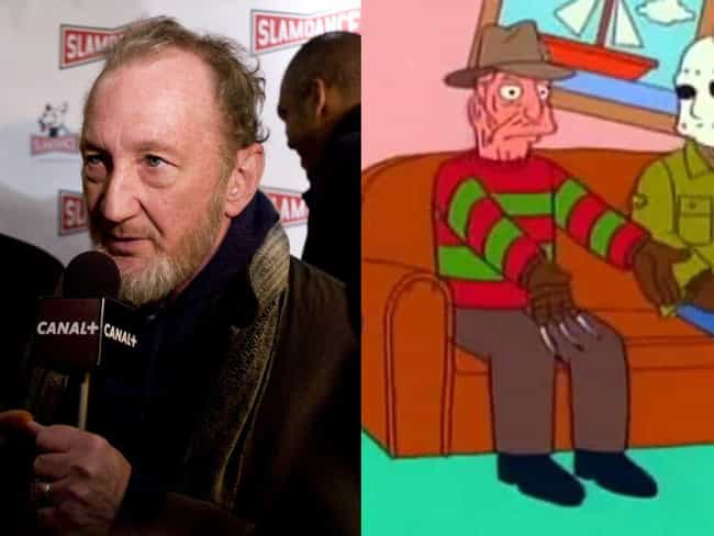 Robert Englund is listed (or ranked) 1 on the list Horror Icons Who Guest Starred On 'The Simpsons'