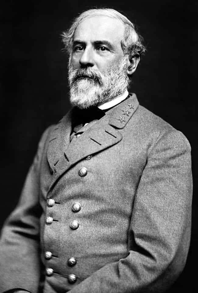 Robert E. Lee is listed (or ranked) 4 on the list Which General Would Win In An All-Out War Between History's Greatest Military Leaders?