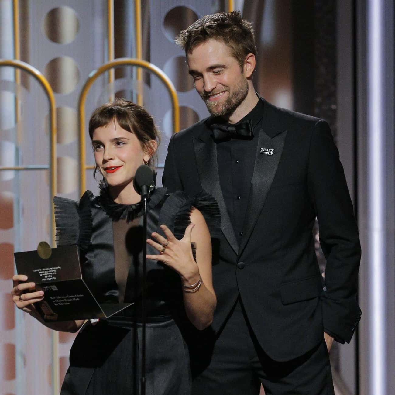 Robert Pattinson is listed (or ranked) 4 on the list Emma Watson Loves and Hookups