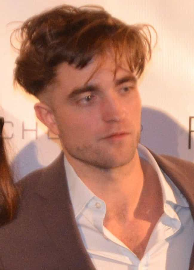 Robert Pattinson is listed (or ranked) 4 on the list Balding (Or Just Bald) Celebrities Who Wear Hairpieces