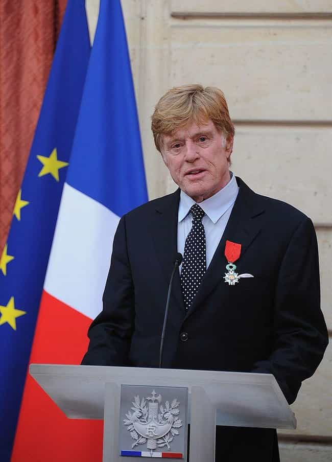 Robert Redford is listed (or ranked) 2 on the list Famous People Who Have Been Knighted