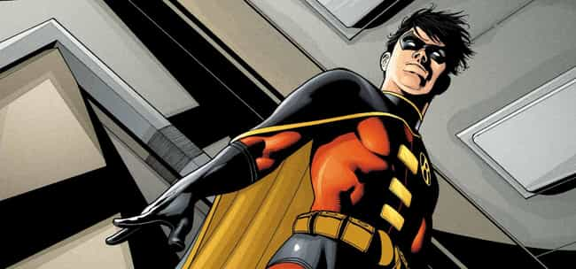 Robin is listed (or ranked) 4 on the list 7 Comic Book Characters Who Unfortunately Were Cut From Movies
