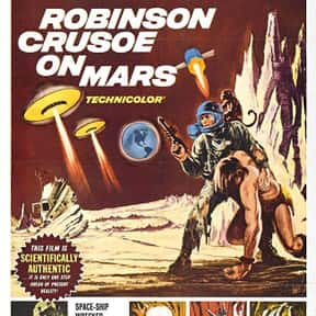 Robinson Crusoe on Mars is listed (or ranked) 11 on the list The Best Sci-Fi Movies of the 1960s