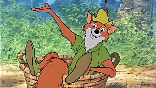 Robin Hood is listed (or ranked) 3 on the list The Most Influential Characters in Furry History