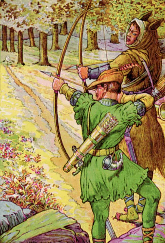 Robin Hood is listed (or ranked) 4 on the list 12 Characters From Ancient Mythology That Actually Existed In History