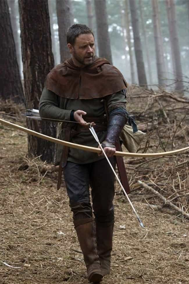 Robin Hood is listed (or ranked) 4 on the list 15 Famous Roles Christian Bale ALMOST Played