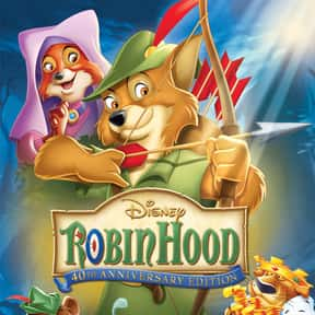 Robin Hood is listed (or ranked) 25 on the list The Best Movies To Stream On Disney+