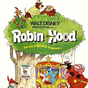 Robin Hood is listed (or ranked) 8 on the list The Best Disney Movies Starring Animals