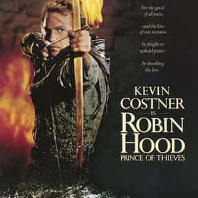 Robin Hood: Prince of Thieves is listed (or ranked) 11 on the list The Best Kevin Costner Movies