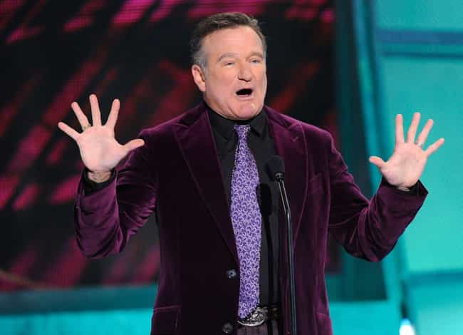 Robin Williams is listed (or ranked) 2 on the list List of Famous Comedians