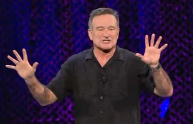Robin Williams is listed (or ranked) 4 on the list Famous Members of the Anglican Church