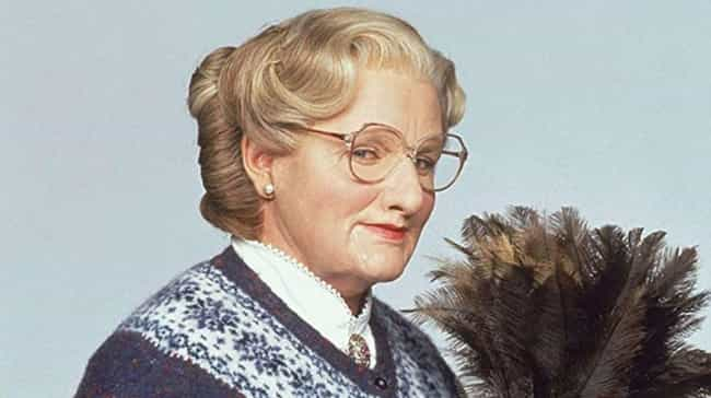 Robin Williams is listed (or ranked) 2 on the list Actors Who Dressed In Full Drag For A Role