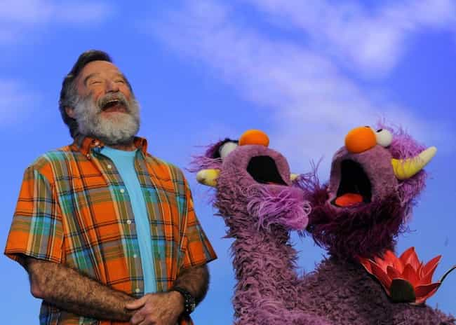 Robin Williams is listed (or ranked) 2 on the list Celebrities Share Their Experiences Being On 'Sesame Street'