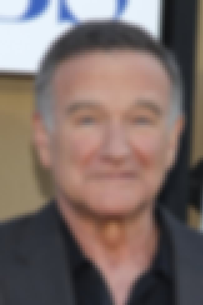 Robin Williams is listed (or ranked) 3 on the list 80 Celebrities with Learning Disabilities