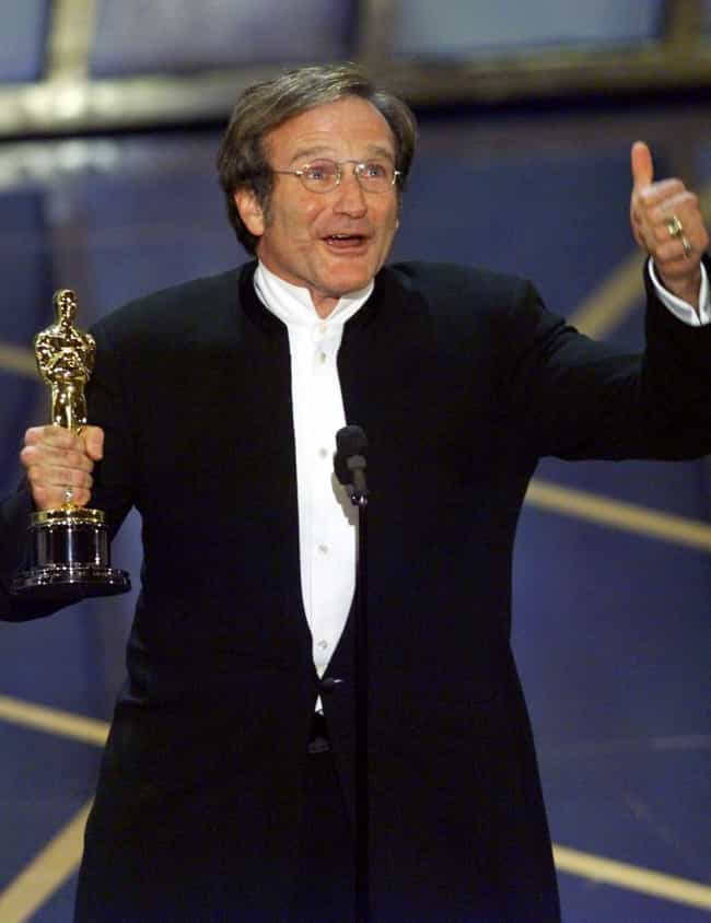 Robin Williams is listed (or ranked) 2 on the list 33 Comedic Actors Who Have Been Nominated for Oscars