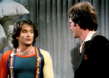 Robin Williams is listed (or ranked) 2 on the list Famous Friends of David Letterman