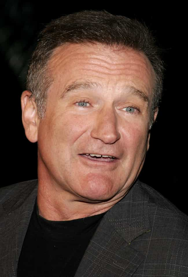 Robin Williams is listed (or ranked) 7 on the list 80 Famous People with ADHD