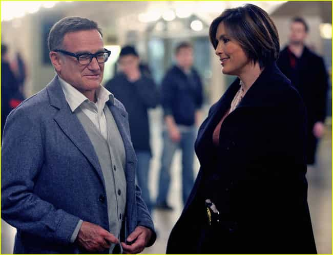 Robin Williams is listed (or ranked) 1 on the list The Best Law & Order SVU Guest Stars