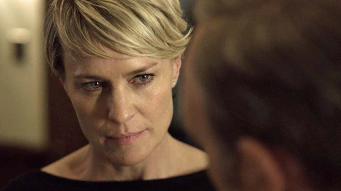 Robin Wright Had Fought To Be Paid As Much As Kevin Spacey On House Of Cards