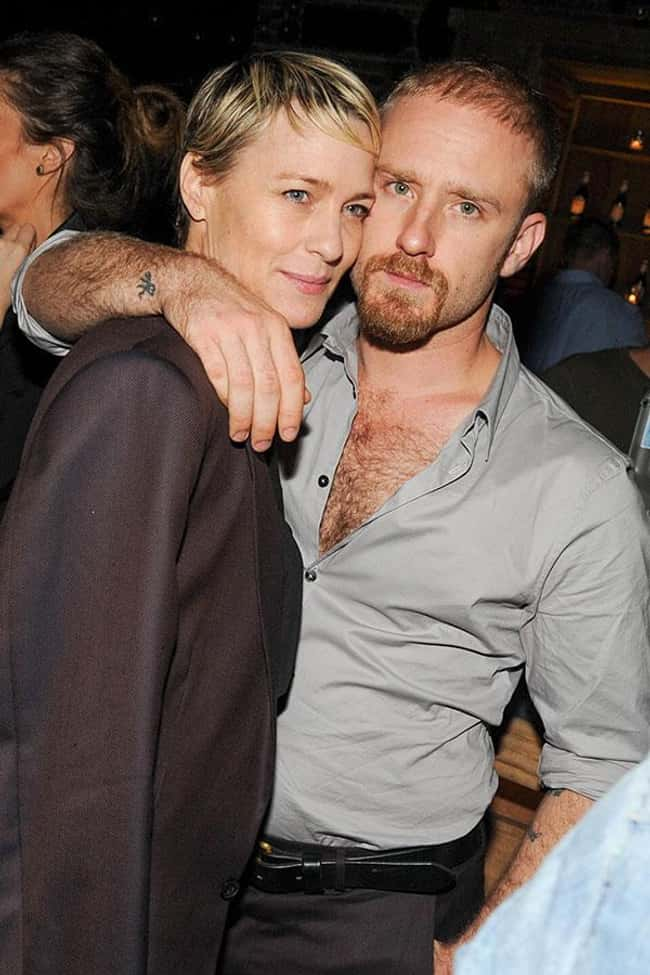 Robin Wright is listed (or ranked) 38 on the list 48 Famous Couples with Huge Age Differences