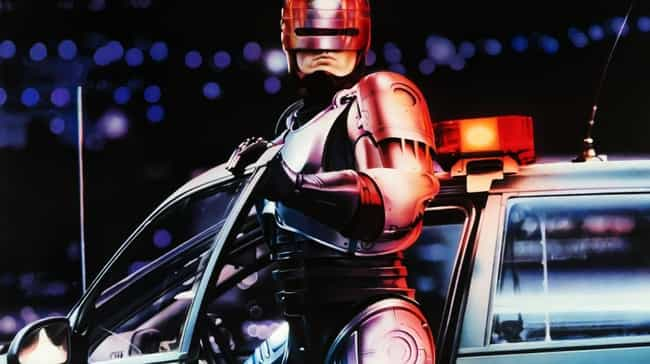 RoboCop is listed (or ranked) 7 on the list Old Futuristic Movies Whose Futures We've Passed