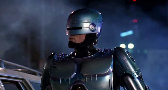 RoboCop is listed (or ranked) 1 on the list 15 Dystopian Movies That Sound Way Better Than America in 2016