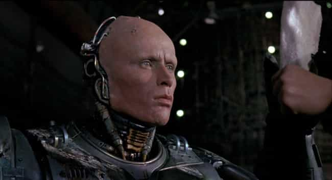 RoboCop is listed (or ranked) 4 on the list Frankenstein Movies That Aren't Actually About Frankenstein