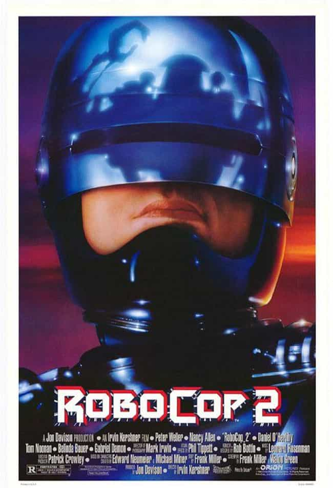 RoboCop 2 is listed (or ranked) 2 on the list The Best Movies In The 'RoboCop' Franchise, Ranked