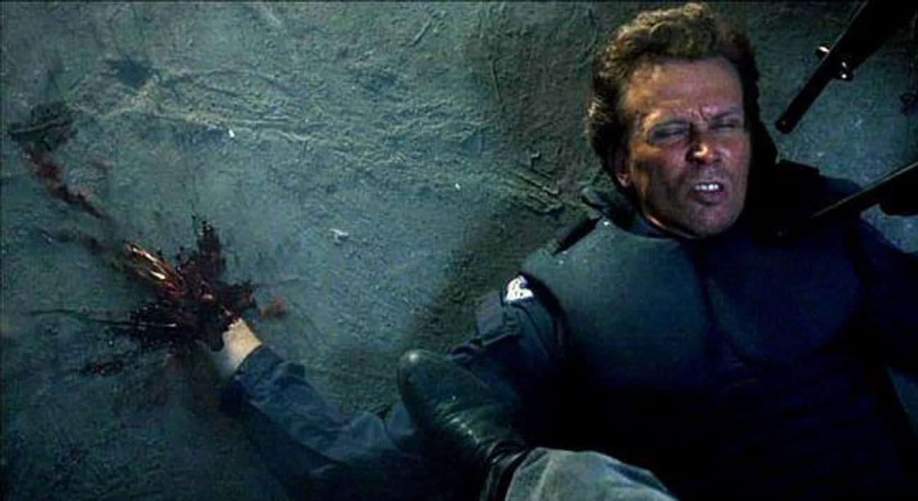Officer Murphy's Death In  is listed (or ranked) 2 on the list The All-Time Goriest Scenes From Non-Horror Movies