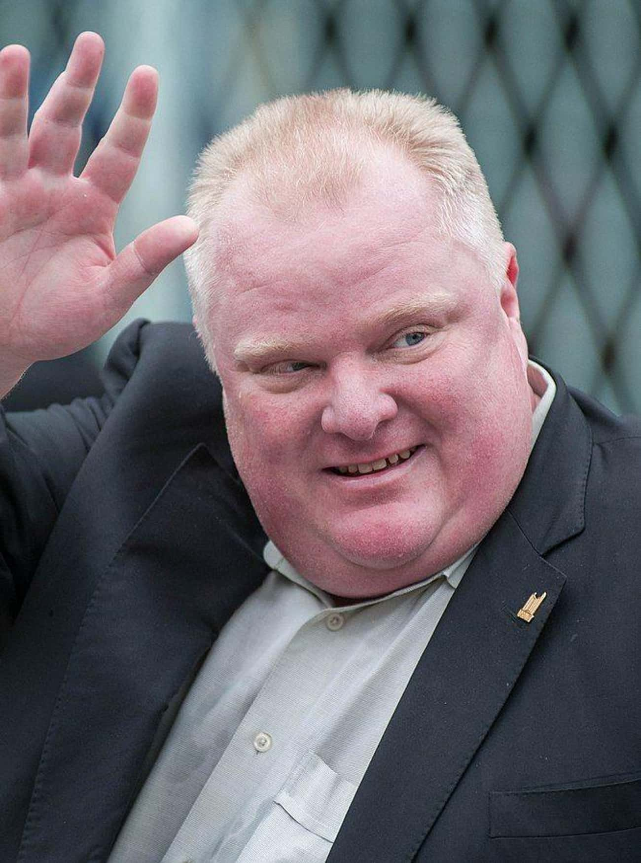 Rob Ford is listed (or ranked) 1 on the list 12 Politicians Busted for Drug Possession