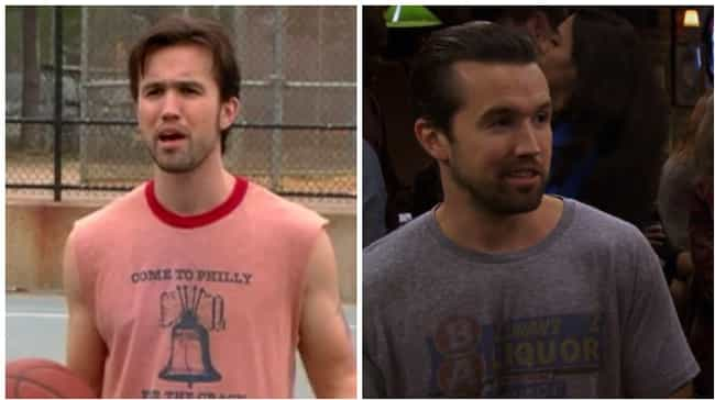 Rob McElhenney is listed (or ranked) 1 on the list How the Cast of It's Always Sunny Aged Throughout the Show