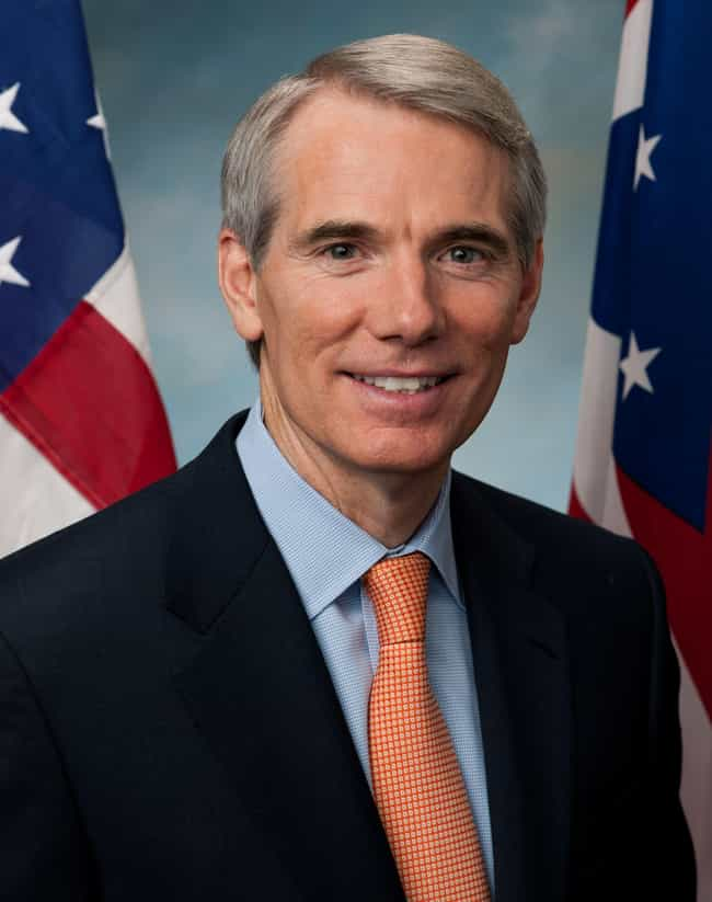 Rob Portman is listed (or ranked) 1 on the list 9 Conservative Politicians With Gay Kids